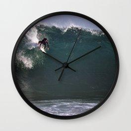 The Wedge Wall Clock