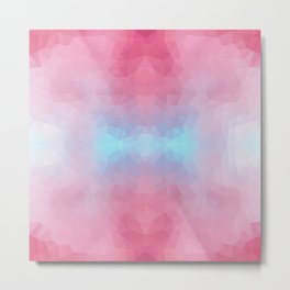 Mozaic design in soft colors Metal Print