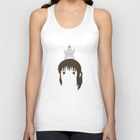 chihiro Tank Tops featuring Chihiro, 2001 by Jarvis Glasses