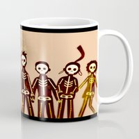 misfits Mugs featuring Misfits by colleencunha