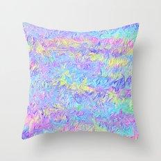 Four Colors Throw Pillow