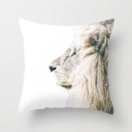 NORDIC LION Throw Pillow