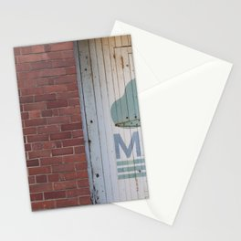 Clouds and brick Leith Edinburgh Stationery Cards