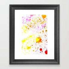 Splatter2 Framed Art Print