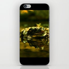 Green Frogs iPhone Skin