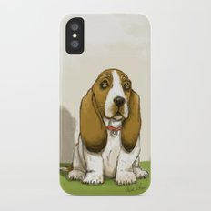 Basset iPhone X Slim Case