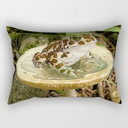 Toad Stool. Rectangular Pillow
