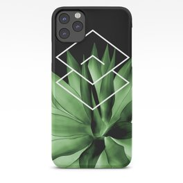 Agave geometrics III iPhone Case