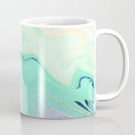 Marble azure texture Coffee Mug