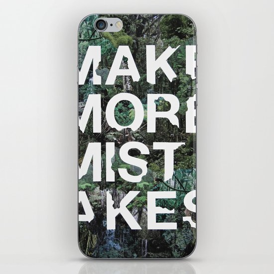 Mistakes iPhone & iPod Skin