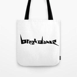 Breakdance Black type Tote Bag
