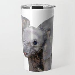 Baby Elephant animal Travel Mug