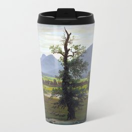 Village Landscape in Morning Light (The Lone Tree), 1822 Travel Mug