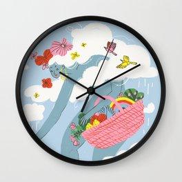 The Giantess Wall Clock