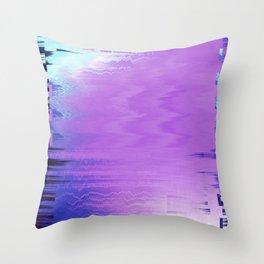 Glytch 17 Throw Pillow