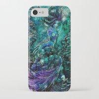 siren iPhone & iPod Cases featuring Siren by Nemeth Alina