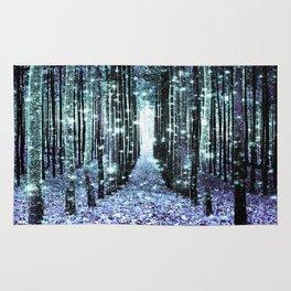 Magical Forest Lavender Aqua/Teal Rug