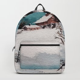 The Winter Barn Backpack
