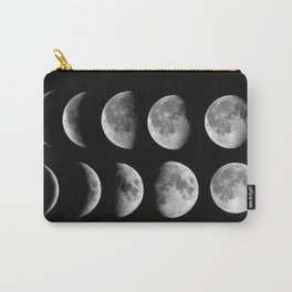 Phases (black) Carry-All Pouch