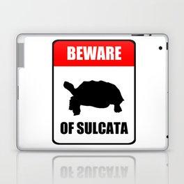 Beware of Sulcata Laptop & iPad Skin