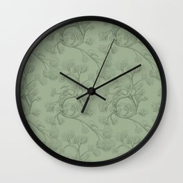 The Night Gardener - Endpapers Wall Clock