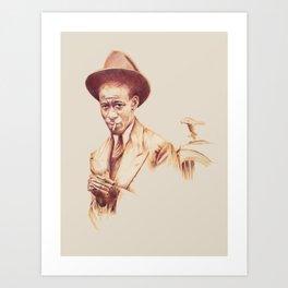 Harlem... Art Print