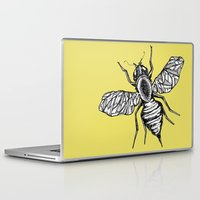 bee Laptop & iPad Skins featuring Bee by Aubree Eisenwinter