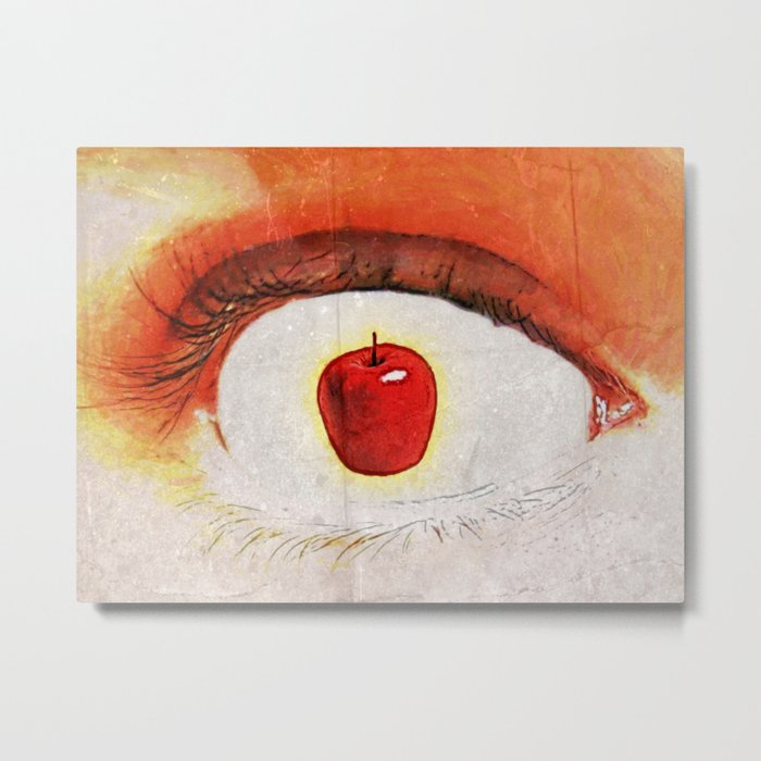 Apple of My Eye 000 Metal Print