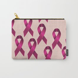Satin pink ribbon Carry-All Pouch