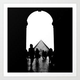 Le Pèlerinage // Le Louvre, Paris, 2009 Art Print