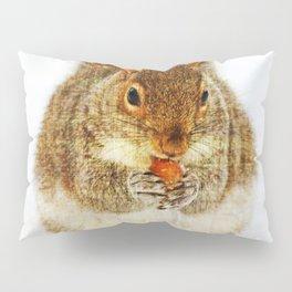 Squirrel with an Acorn Pillow Sham