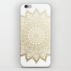 BOHO NIGHTS GOLD MANDALA iPhone & iPod Skin