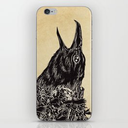 CROW-ded iPhone Skin