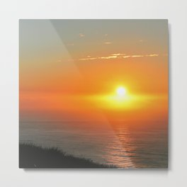 Sunrise over South Pacific Ocean Metal Print