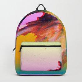 Clashing Stars Print Backpack