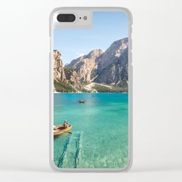 Mountain Adventures Clear iPhone Case