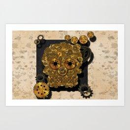 Engrenage Art Print