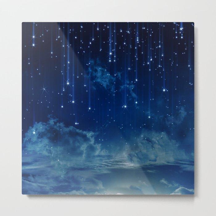 Falling stars I Metal Print