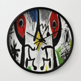 Identical twins Wall Clock