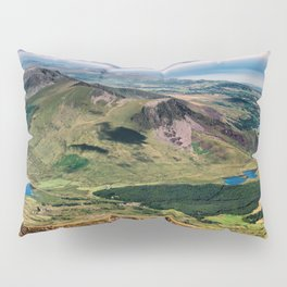 Snowdon Moutain View Pillow Sham