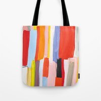 library Tote Bags featuring Library by Emily Rickard