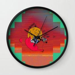 Moon Chaka Wall Clock