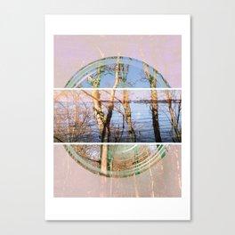 Central Melancholy Canvas Print
