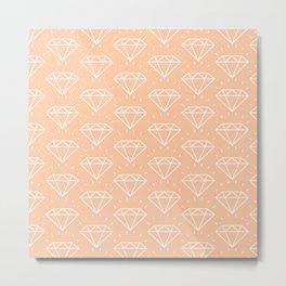 DIAMOND ((melon)) Metal Print