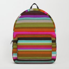 Colored Lines Backpack