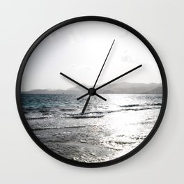 Shades of Sunrise Wall Clock