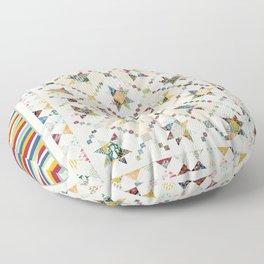 Hayden's quilt Floor Pillow