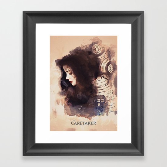 The Caretaker Framed Art Print