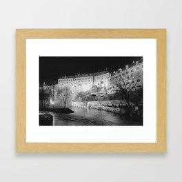 Krumlov VII Framed Art Print