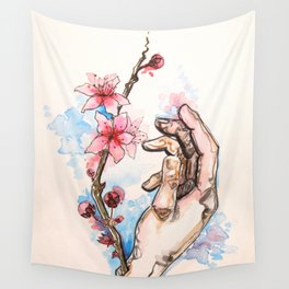 Cherry Wrists Wall Tapestry